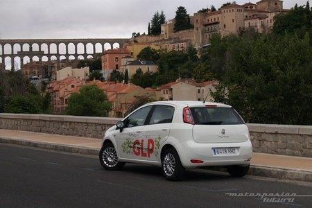Fiat Punto GLP, prueba