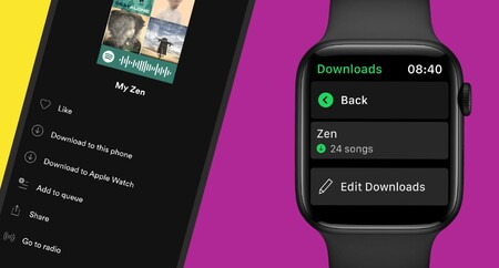 Ya puedes descargar música y podcast de Spotify en tu Apple Watch en México: necesitas una cuenta Premium y reloj Series 3 o posterior