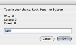 RPS: piedra-papel-tijera en tu Mac