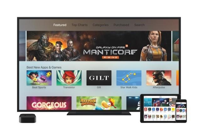 Tv Appletv Ipadair2 Iphone6s Appstore Print