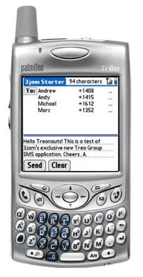 3jsm SMS 2.0, SMS grupales en Virgin Mobile