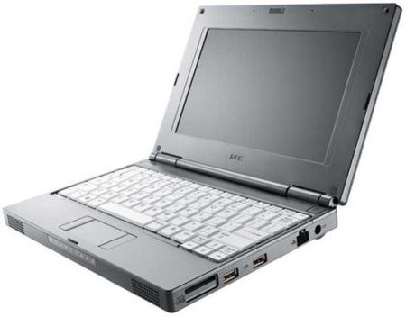 NEC Versa N1100, ultraportátil con carcasa de magnésio