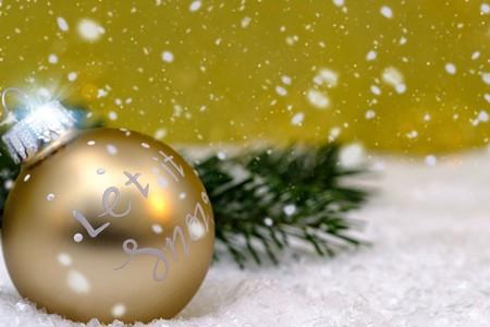 Villancicos de Navidad para niños en inglés: Let it snow