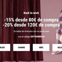Back to Work en Sarenza: descuentos de hasta el 20% en miles de zapatos y bolsos
