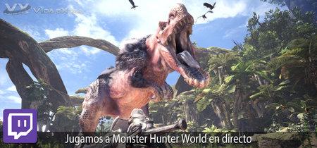 Streaming de Monster Hunter World a las 18:00h (las 11:00h en Ciudad de México) [Finalizado]