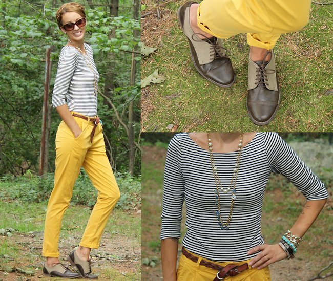 Pantalones mostaza Erin