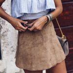 Duelo de mini(faldas): Asos nos ayuda a lucir la moda del ante