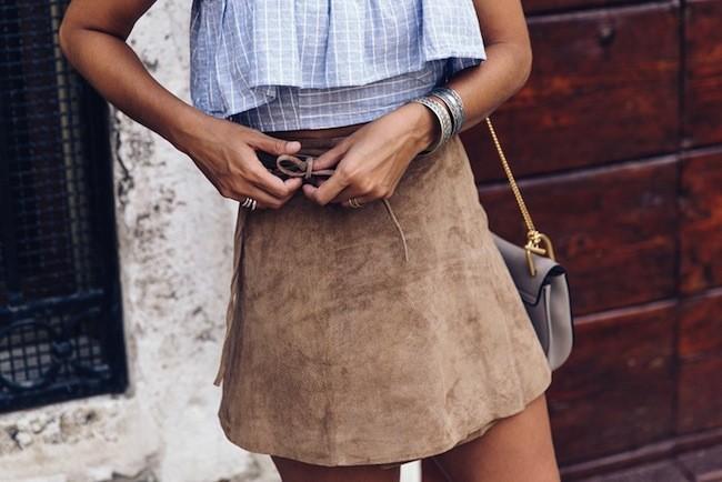 Minifalda Asos Ante