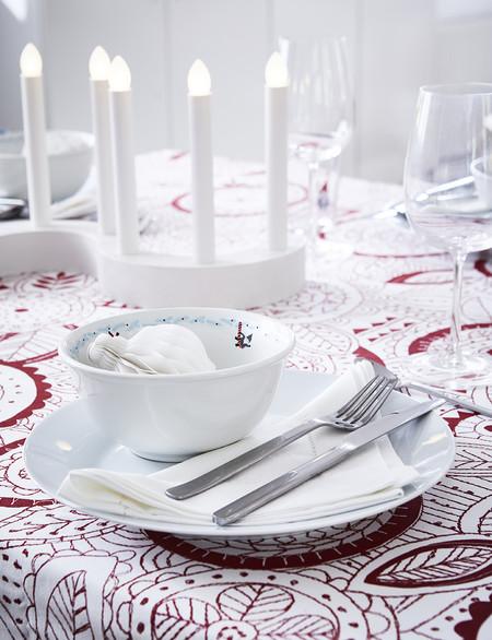 Ikea mesas de Navidad bonitas