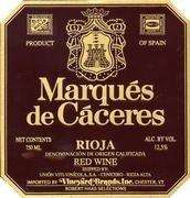 Marqués de Cáceres y su nueva Web