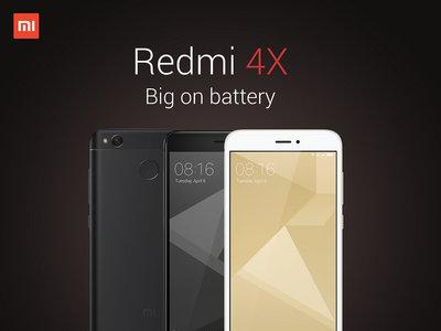 Xiaomi Redmi 4X de 32GB, en versión global, por 109 euros y envío gratis desde España