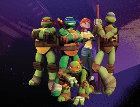 Las tortugas ninja desembarcan en Clan en mayo