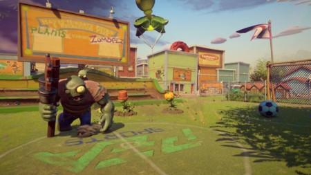 El patio de Plants vs. Zombies: Garden Warfare 2 es particular, cuando llueve... se lía la fiesta parda
