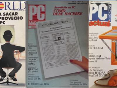 Así era la publicidad de informática de las primeras PC Actual, PC World y PC Magazine en español