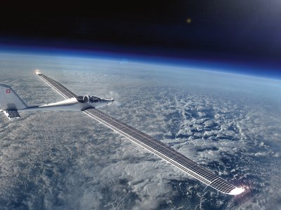 SolarStratos quiere ser el primer avión del mundo en viajar al espacio impulsado sólo con energía solar