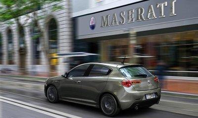 Maserati elige el Alfa Romeo Giulietta QV como coche de cortesía