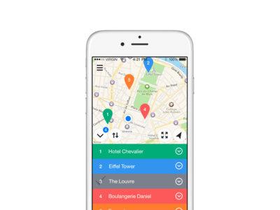 Relay Maps para iOS: crea mapas e itinerarios personalizados para tu próximo viaje