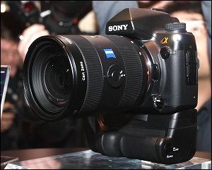 Sony confirma una réflex profesional de 24 megapixeles full frame para finales de año