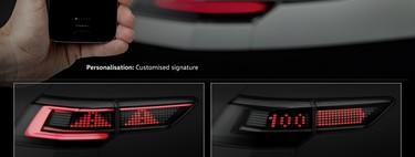 Volkswagen tiene en el horno una tecnología de alumbrado interactivo para poder comunicarnos en carretera