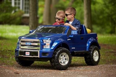 Ford F-150 Power Wheels: para ese niño que todos llevamos dentro