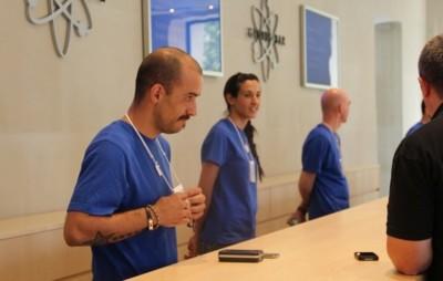 Apple empieza a reparar las pantallas de los iPhone 5 al momento