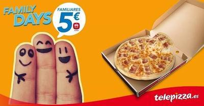 Telepizza repite con sus 'Family days': 25, 26 y 27 de junio