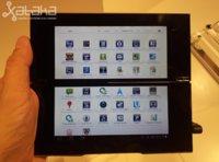 Sony Tablet P, un bocadillo de Android con demasiados ingredientes