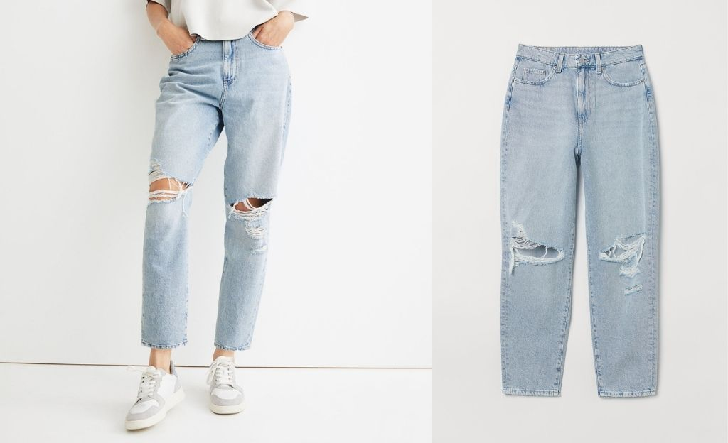 Loose Mom Ultra High Jeans