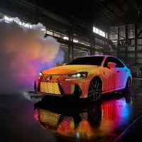 Cuando 41.999 LEDs resuelven el eterno problema de no saber de qué color elegir el coche