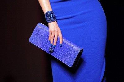 Las uñas a juego con tu bolso, según Gaultier. Alta Costura Primavera-Verano 2012