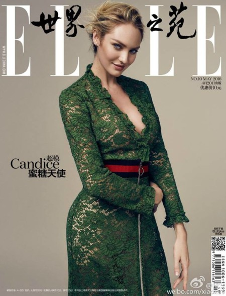 Elle China: Candice Swanepoel