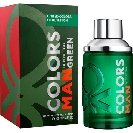 Colors Man Green Edt