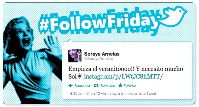follow friday soraya arnelas
