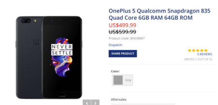 OnePlus 5 en Buygou