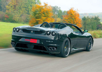Ferrari F430 Spider Bi-Compressor por Novitec