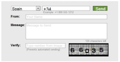Gizmo SMS, enviando mensajes de texto gratis por Internet