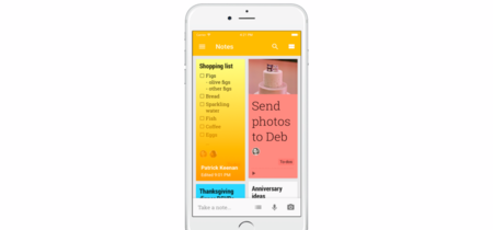 Google Keep llega (con retraso) al 3D Touch