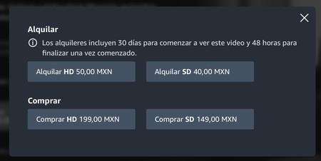 Prime Video Mexico Renta Peliculas 2