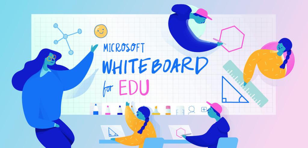 Microsoft Whiteboard para Educación ya se puede bajar en ©Windows diez y para el iPad de Apple
