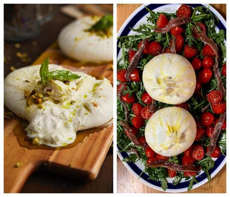 Los Frutos Secos Los Tomates Cherry O El Toque Salado De Las Anchoas Le Sientan De Maravilla A Las Burratas Frescas