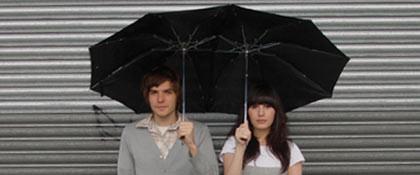 Paraguas tandem