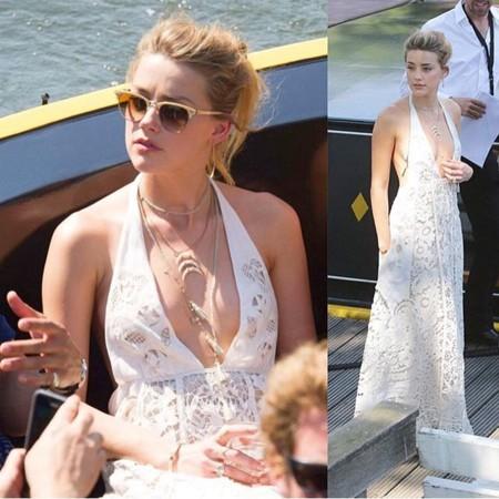 Amber Heard de Valentino