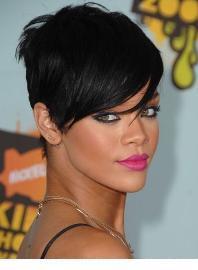Rihanna y sus labios magenta