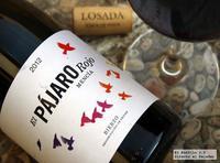 El Pájaro Rojo 2012, el chaval de la bodega Losada Vinos de Finca