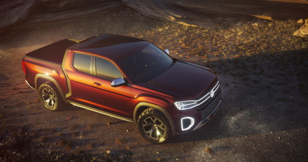 Volkswagen estudia la posibilidad de una pick-up mediana para EE.UU. con la Atlas Tanoak Concept