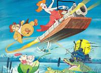 Disney: 'Los rescatadores', de John Lounsbery, Wolfgang Reitherman y Art Stevens