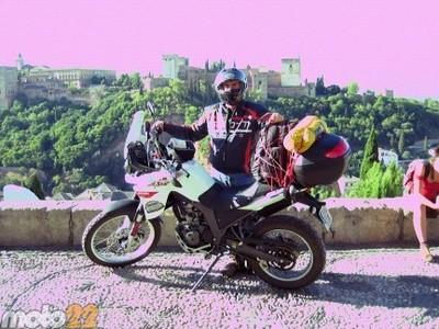 Las vacaciones de Moto 22, Granada-Alicante