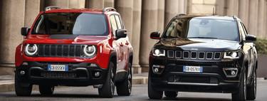 Los Jeep Renegade y Compass 4xe sumergen a la marca por primera vez al mundo de los híbridos enchufables