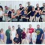 Los divertidísimos vídeos de una clase de ballet de padres e hijas