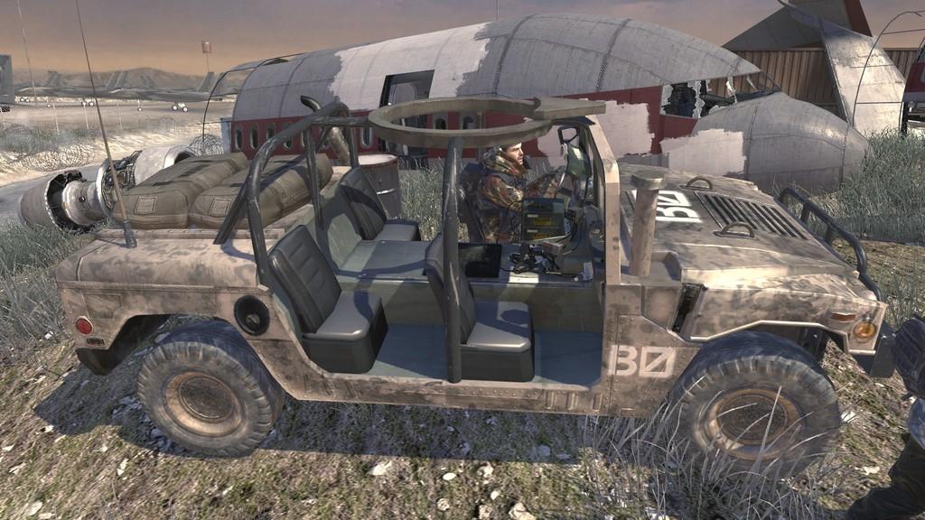 Humvee Used By Ultranationalists Mw2